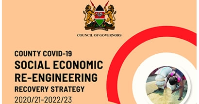 County COVID-19 re-engineering and recovery strategy 2020/21-2022/23