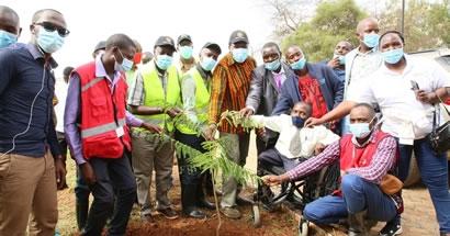 PANDA MITI, BORESHA MAISHA: LAUNCH OF THE 2 MILLION TREE GROWING INITIATIVE MAKUENI COUNTY CHAPTER