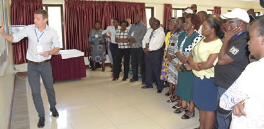 Joint Workshop for Symbiocity Kenya