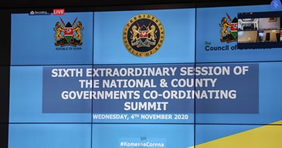 Resolutions set to mitigate the current upward surge of Covid-19 cases in Kenya