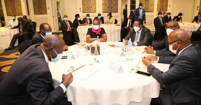 GOVERNORS AND MINISTRY AGREE ON THE ROLL-OUT OF THE NATIONAL LAND INFORMATION MANAGEMENT SYSTEM TO COUNTIES