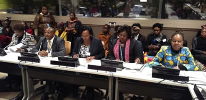 THE 62ND SESSION OF THE COMMISSION ON THE STATUS OF WOMEN (CSW)