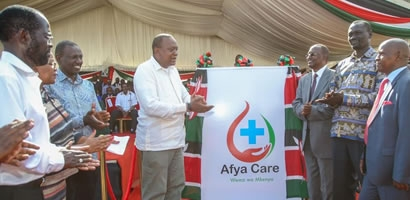 LAUNCH OF THE UNIVERSAL HEALTH COVERAGE PILOT