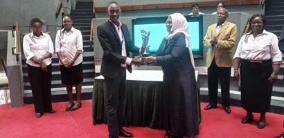 MAARIFA CENTER BAGS AN AWARD AT THE AFRICAN PUBLIC SERVICE DAY