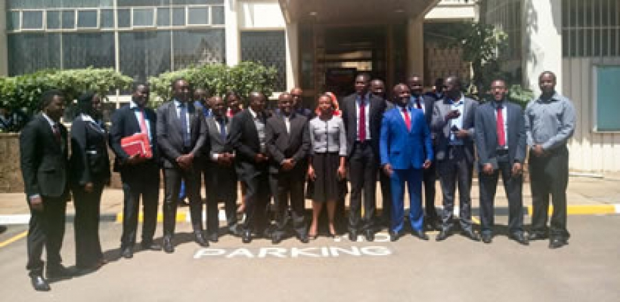 County Governments and KMPDU register CBA's at labour court