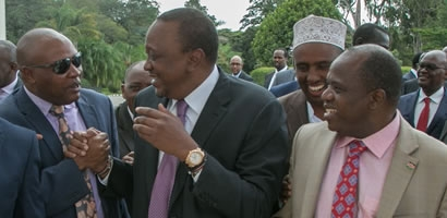 Governors in support of the Health Sector Big 4 Agenda