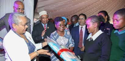 COUNTY FIRST LADIES LAUNCH MENSTRUAL HEALTH MANAGEMENT PROGRAMME