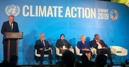 Climate Change Action Summit 2019 during the 74th United Nation General Assembly