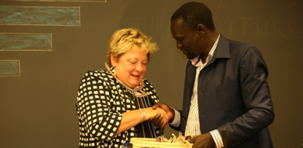 COUNCIL OF GOVERNORS HOST A FAREWELL DINNER FOR OUTGOING USAID MISSION DIRECTOR
